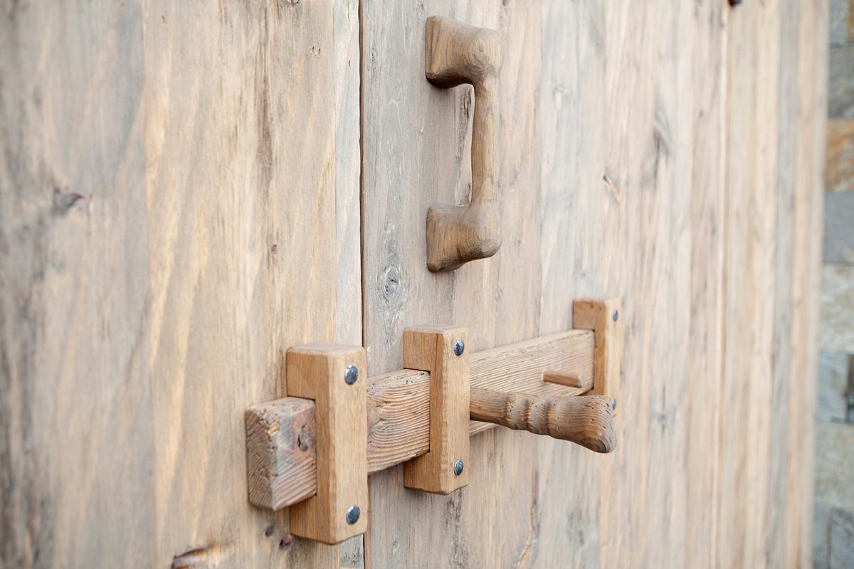 Tür Fichte
