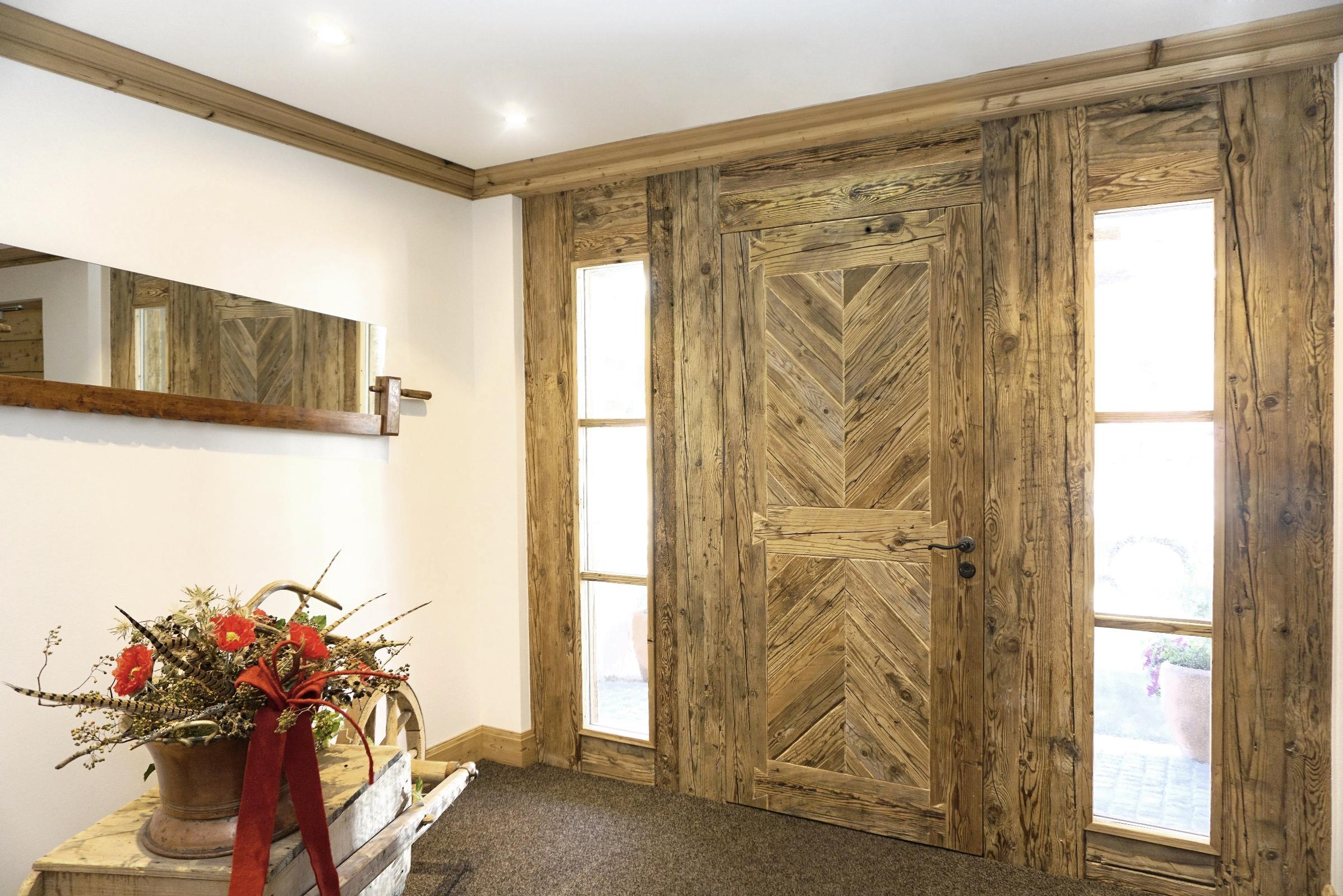 Eingangtür Altholz