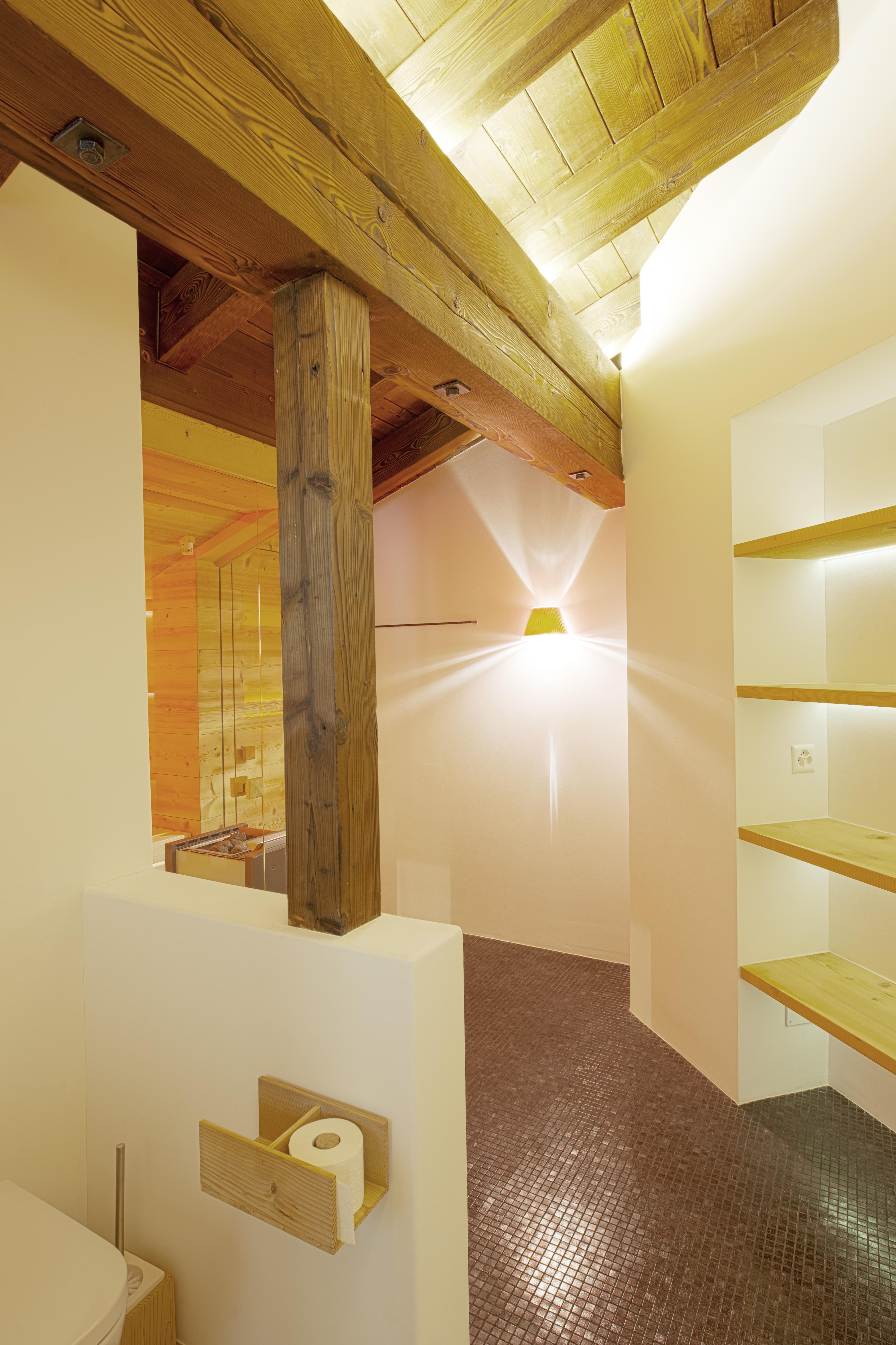 Innenausbau mit Sauna