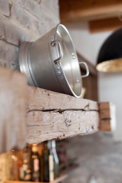 Pitschen Schreinerei - Küche Sichtaltholz