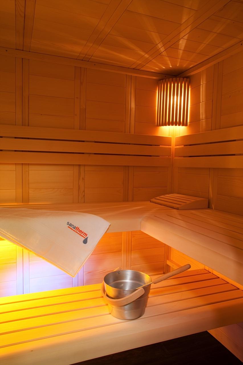 Sauna Massivholz