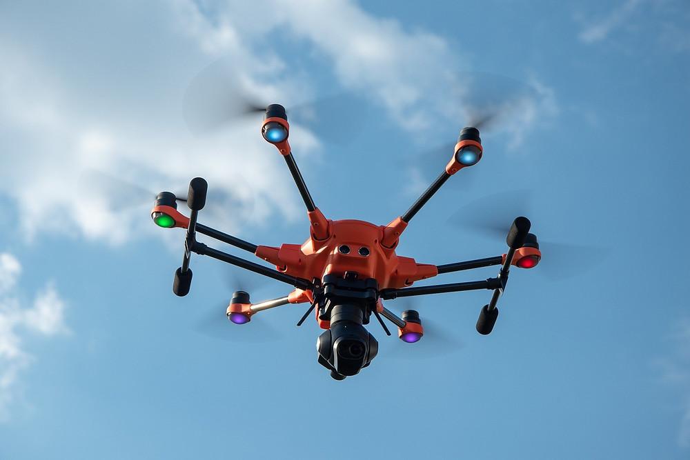 Drone antiincendios. Teledetección con drones. Drones Valladolid.