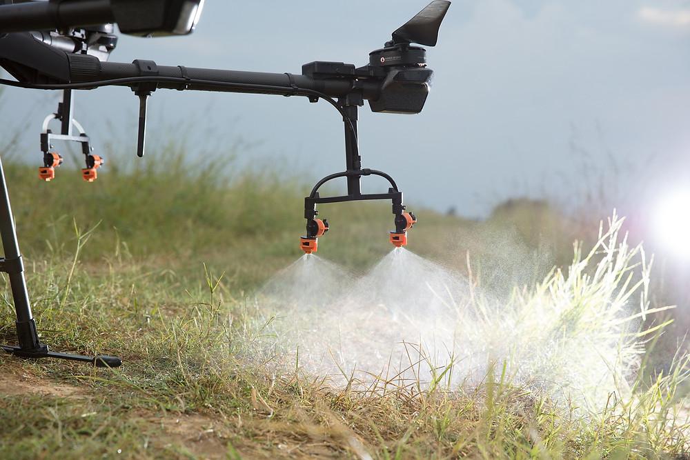 Fumigación con drones - Agricultura de precisión - Drones Valladolid