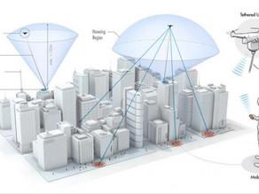 Drones que funcionan como antenas remotas de señal para mejorar las redes de telefonía e Internet