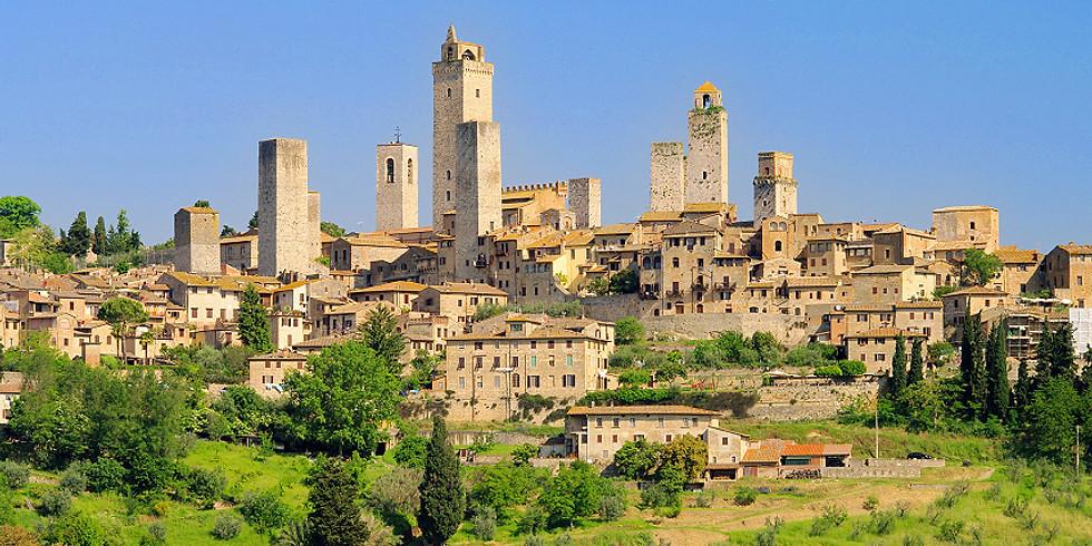 San Gimignano Sanal Gezisi