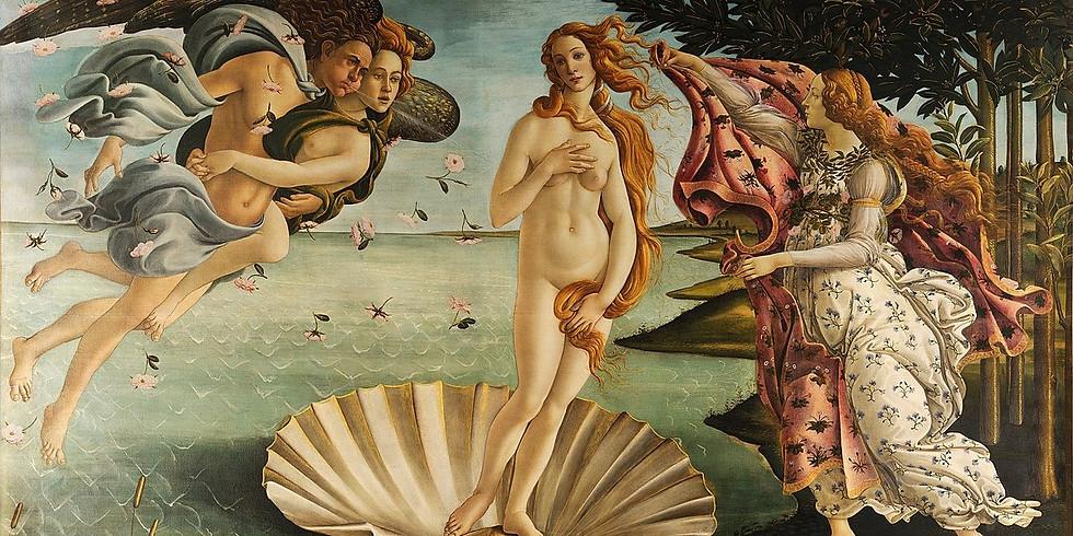 Sandro Botticelli - Venüs'ün Doğuşu