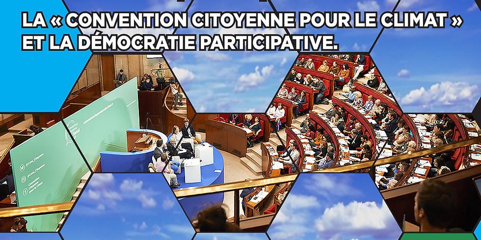 La Convention citoyenne pour le climat et la démocratie participative