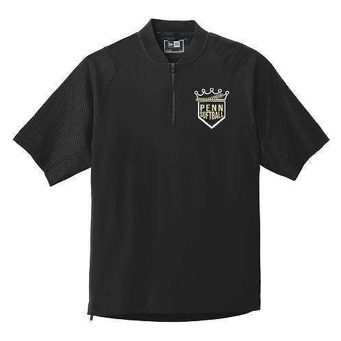 New Era® Cage Short Sleeve 1/4-Zip Jacket