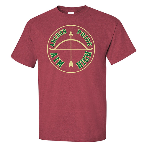 Gildan - Ultra Cotton® T-Shirt Heather Cardinal