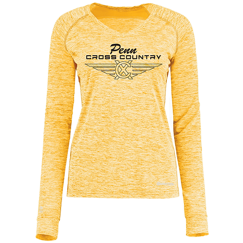 HOLLOWAY LADIES ELECTRIFY COOLCORE® LONG SLEEVE TEE