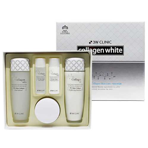 Набор для ухода лица Collagen White skin care