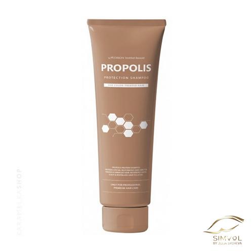 Протеиновый шампунь для волос с экстрактом прополиса, 100 мл PEDISON