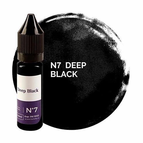 Пигмент для век Hanafy Colours Pigments №7 DEEP BLACK