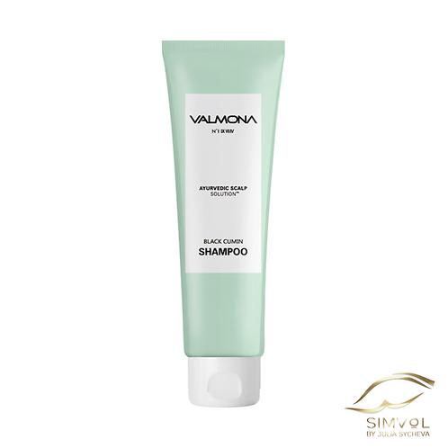 Шампунь для волос Valmona ayurvedic scalp solution black cumin shampoo
