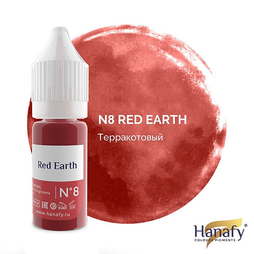Пигмент для губ Hanafy Colours  №8 Red Earth