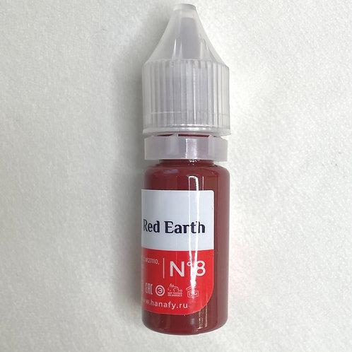 Hanafy для губ 8 Red Earth 10 ml