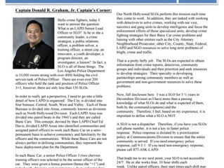 Check Out LAPD North Hollywood's Latest Newsletter