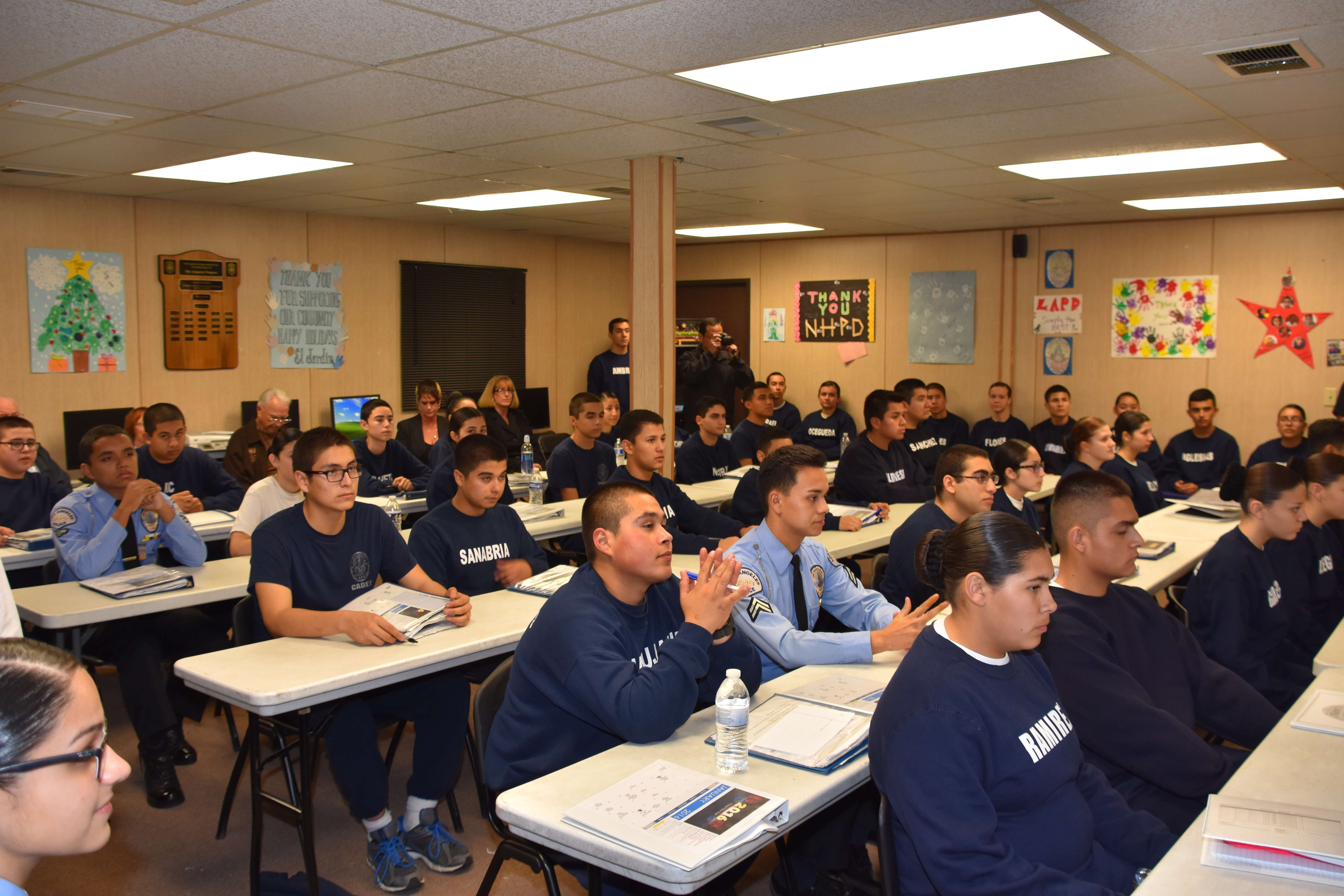 2016 Cadet and Jeopardy Classes