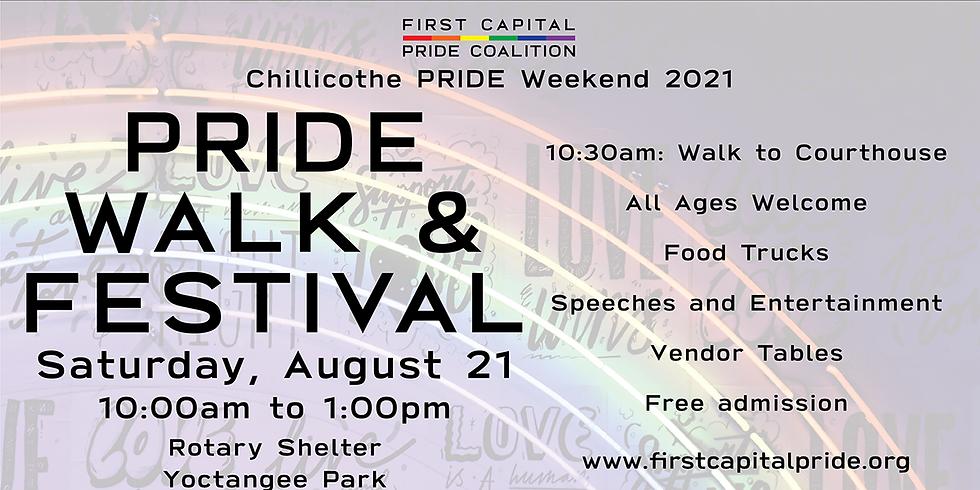 2021 PRIDE Walk & Festival