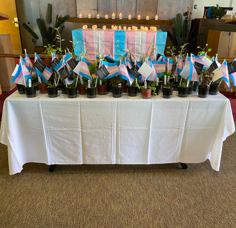 2019 Transgender Day of Remembrance hosted by the Chillicothe VA LGBT/Allies staff workgroup