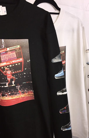 MJ sneakers collection