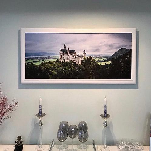 Alemanha - Neuschwanstein Castle - Impressão feita em tela FineArt