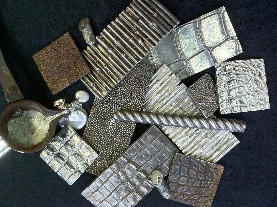 Mitchel and Mitchel Custom metal tiles chicago