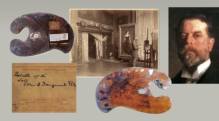 John Singer Sargent and his palette