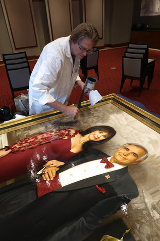 A final coat of varnish will both enhance and protect your finished oil paintings~ by John S. Walker