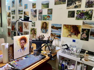 Time Management for Emerging Artists: Balancing Painting, Business, and a Day Job (Part I)