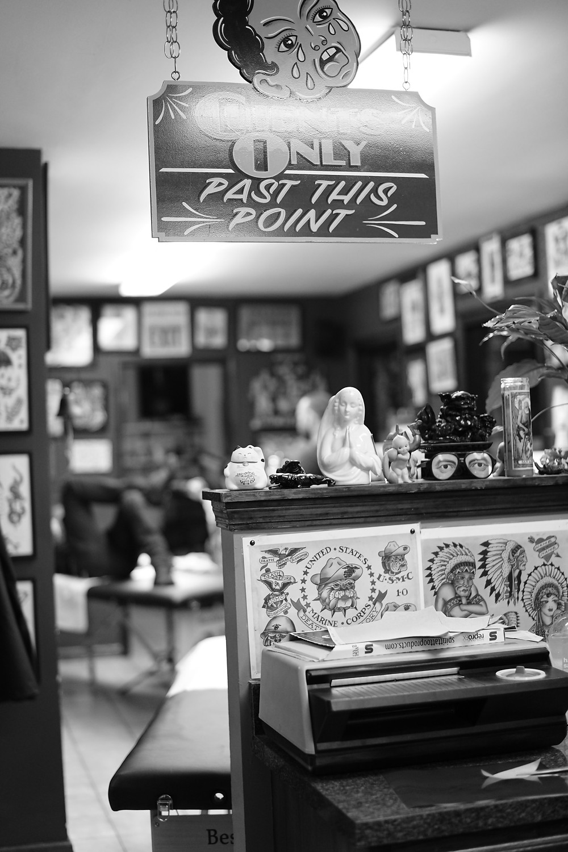 Taylor Street Tattoo Chicago 1150 W. Taylor St.
