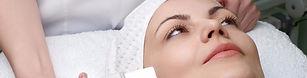 woman getting a facial rejuvenation treatment