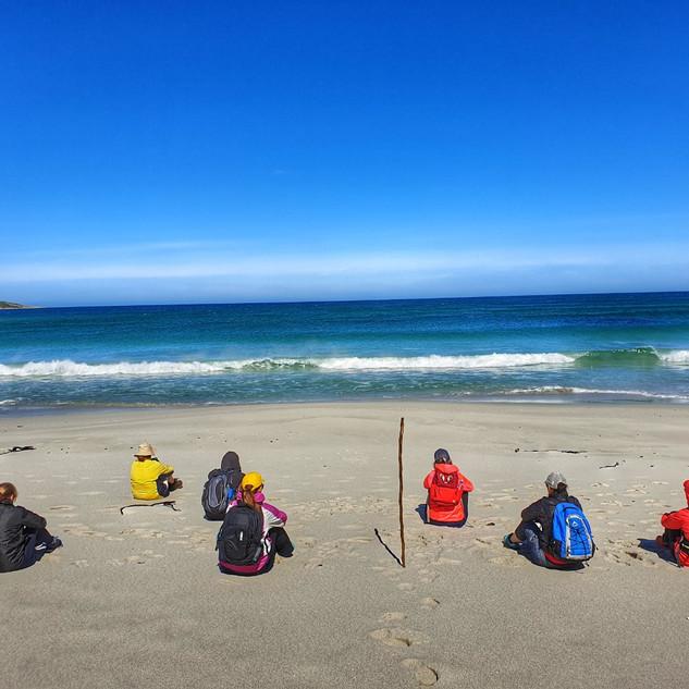 ZenGuiding beach meditation