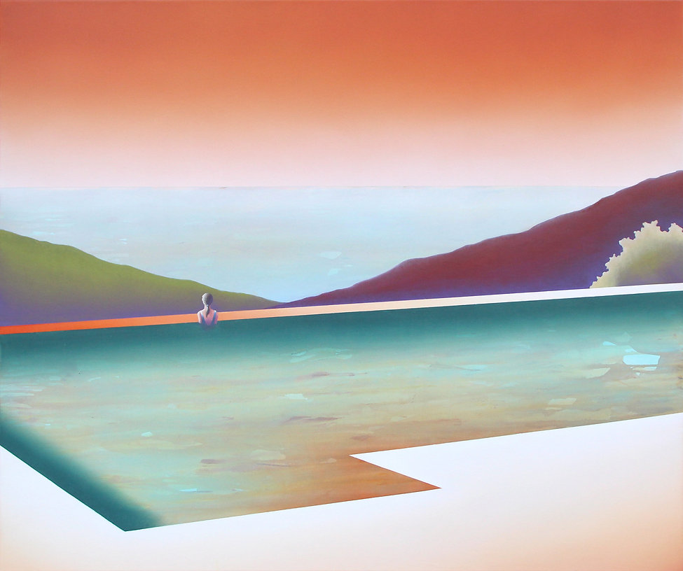 Horizon II_acrylic and oil painting on canvas_100x120cm_2020_Lucas Pfeiffer