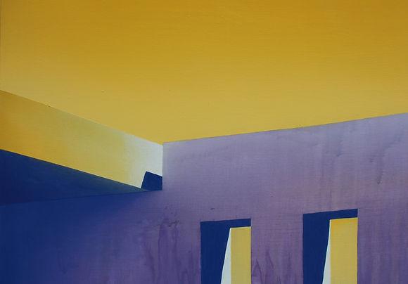 Ouverture, acrylique et huile sur toile, 120x150cm, 2020_D01