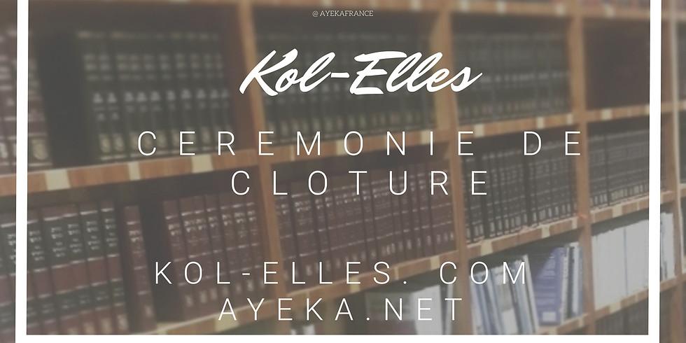 11/04 - Kol Elles : cérémonie de fin