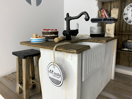 1:6 Kitchen and Stools Bundle