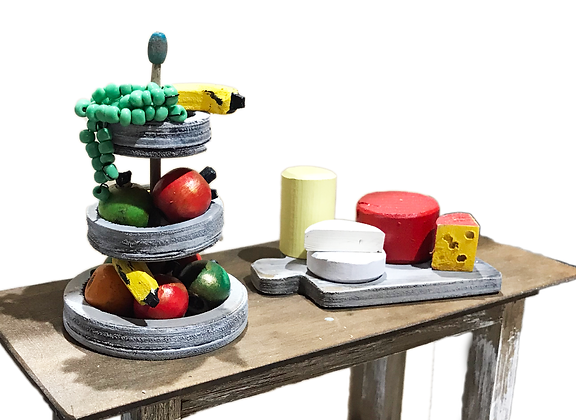 Fruit and Cheese Set 1:12
