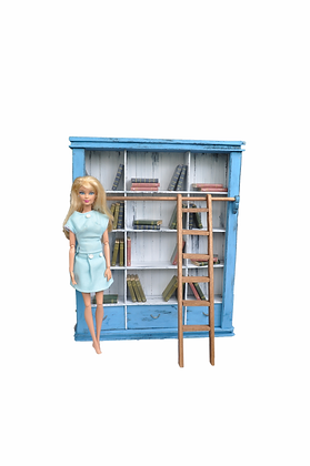 Bookcase / Library & Set of Display Books