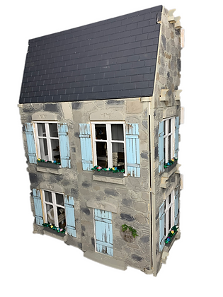 1:12 Scale  3 Storey - double room, Dollhouse