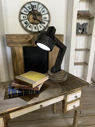Wooden Desk Lamp