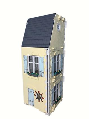 1:12  Nautical 3 Storey , 3 Room , MiniMolly Dollhouse