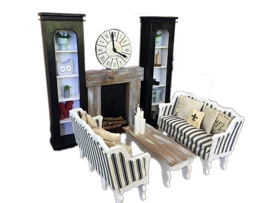 MiniMolly Dollhouse Furniture Deluxe Loungeroom Bundle