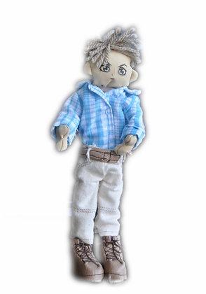 Minimollydollhouse Doll Man