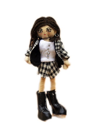 Minimollydollhouse Doll Lady