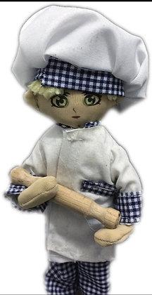 Minimollydollhouse Doll Chef