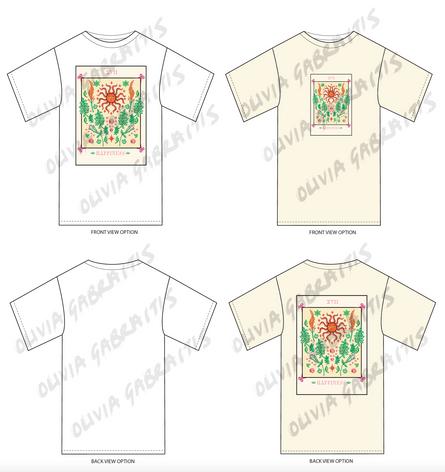 Happiness Tarot Cards T-shirt Graphic