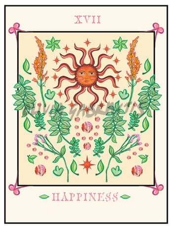 Happiness Tarot Cards