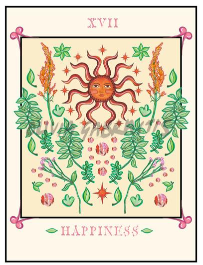 Happiness Tarot Cards