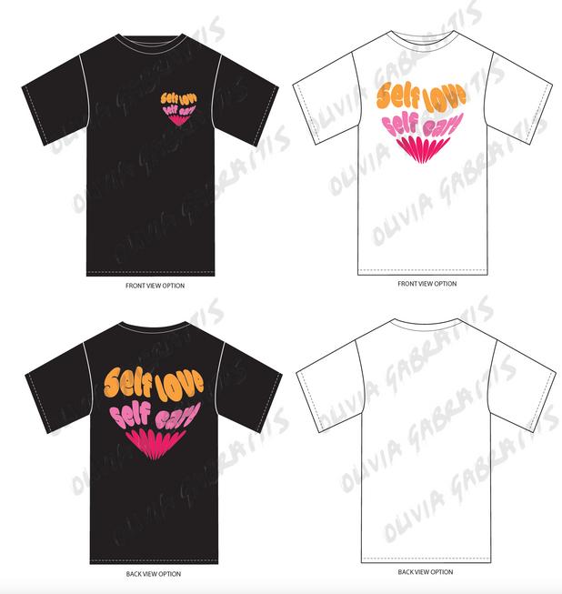 Self Love Self Care T-shirt Graphic